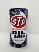 Vintage Stp Oil Treatment 1971 15 Oz. Pop Top Can Sealed Collectible History Vgc