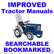 Ford 2000 3000 4000 5000 7000 Tractor Service And Repair Manual - Searchable On Cd
