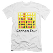 Connect Four Classic Logo Licensed Adult Menand039s Dc Graphic Tee Shirt Sm-5xl