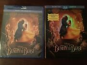 Beauty And The Beast Blu-ray/dvd, Includes Digital Copy Mint Slipcover