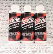 Zddplus Zddp Engine Oil Additive Restores Zinc Every Oil Change. 3 Pack Discount