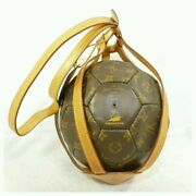 Louis Vuitton World Cup Limited Monogram Soccer Ball M99054 Excellent++ Used