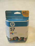 Hp 57 Tricolor Ink, Brand New Unopened Expired Cheap Cartridge