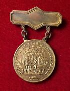 Old Settlers Club, Milwaukee, Wisconsin Incorporated Jan 31, 1846 Rare Pin Gold