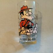 Vintage Dudley Do Right Canoe Pat Ward Pepsi Character Collector Glass Tumbler