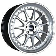 18 Bola B4 Alloy Wheels To Fit Ford Volvo Jaguar Renault Hyper Silver