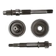 Transmission Gear And Shaft For Scooter Gy6 150cc - 232cc Motor