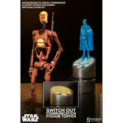 Sideshow 1/6 Star Wars - Geonosis Commander Battle Droid And Count Dooku Hologram