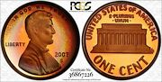 1996-s Lincoln Memorial Pcgs Pr66rb Rainbow Toned Gem Only 3 Finer Worldwide