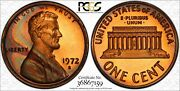 1972-s Lincoln Memorial Pcgs Pr67rb Uniquely Rainbow Toned Gem Only 3 Finer