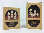 Precious Moments Wee Three Kings Come Let Us Adore Him Ornaments Nativity Lot