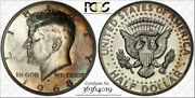1968-s Kennedy Half Dollar 50 Cents Pcgs Pr64 Color Toned Coin In High Grade