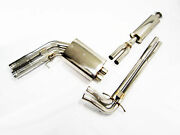 Obx Catback Exhaust For 2003 04 05 06 07 08 2009 Volvo S60r V70r 2.5l Turbo Awd