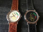 Jean Cocteau - Very Rare Silver Watches-unique Pieces- Like Picasso Degas And Co