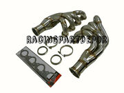 Obx Chevy Big Block Turbo Headers Manifold Up And Forward With V-band Collector