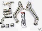 Obx Long Tube Header For 03 04 05 06 Chevy Ssr 6.0l Ls2 Stainless Steel