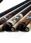 Snooker Billiards Maple Cues Stick 13mm Tip Pool Cue Stick With Carrying Bag New