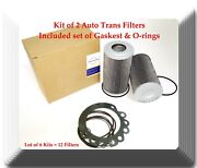 Lot Of 6 Kits Of Auto Trans Filter Kit Hf28943 Fitsfor Vehicles W/allison Trans