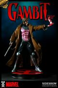 Gambit 14 Scale Premium Format Statue Exclusive Sideshow Collectibles Marvel