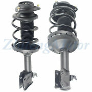 Fits 09-13 Subaru Forester H4 Suspension Strut Andcoil Spring Assembly Front Pair