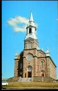 Vintage Postcard View Of St. Peter's Church, Cheticamp Cape Breton N. S. Canada