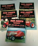 5 Magazines Vol 13-14 Red Power Magazines Back Issues 1999 Ih Collector Tractor