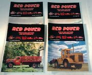 4 Magazines Red Power Vol 12/13 Back Issues Ih Collectors Tractor Magazine 1998