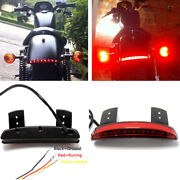 Motorcycle Rear Fender Red Led Brake Tail Lights Motocycle For Harley Touring