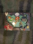 D23 2019 Expo Little Mermaid 30th Anniversary Ariel Set Of 5 Pins Le 300 In Hand