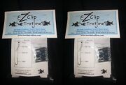 Ez Clip Trotline With Clips, Catfish Fishing Trot Line 2 Each Free Shipping