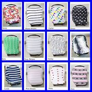 Jersey Stretch Carseat Canopy 100 Cotton Infant Car Seat Canopy Cover