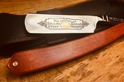 Thiers Issard Straight Razor 6/8 Pink Ivory / Carbonsong C135 New