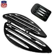 Driver Floorboard Foot Rest Brake Pedal Fit For Touring Road King Softail