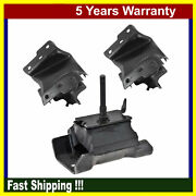 Engine Motor And Trans Mount For Chevy Gmc G1500 G2500 Express Savana 4.3l 3pcs