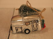 Pottery Barn Camper Christmas Tree Ornament - New, Rare, Hard To Find
