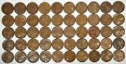 50 1926-s 1c Problem-free Lincoln Wheat Cent G-f K7032
