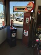 Mobilgas Gilbert And Barker Gas Pump And Lubester