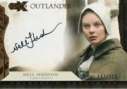 Outlander Czx, Nell Hudson 'laoghaire Mackenzie' Autograph Card Nh 097/105