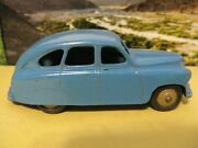 Dinky Toys Vanguard Saloon Blue/teal Meccano Ltd. English Vintage Steel 153