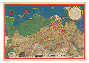 Hobart 1927 Pictorial Map