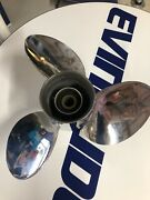 Used Evinrude Johnson 13 7/8x21 Ss V6 Prop
