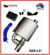 3 Inch Exhaust Tip Muffler Kit And Dump Valve For Ford Falcon Xd Fpv Xr6 Xr8