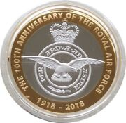 2018 Royal Mint Royal Air Force £2 Two Pound Silver Proof Coin Box Coa