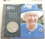 2017 Royal Mint Queens Sapphire Jubilee Andpound5 Five Pound Coin Pack Sealed