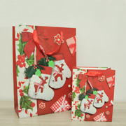50x Birthday Xmas Paper Gift Bags Wholesale Christmas Winter Gloves Feast Bag