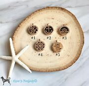Aromatherapy Essential Oil Pendant Rose Gold Necklace 30mm Musicanchor Flower