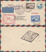 Germany 1931 - Airmail Cover To Cleveland-ohio-usa.- Zeppelin 8g-34828 Mv-5542