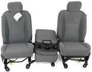 2016-2018 Dodge Ram 1500 2500 Front Center Jump Driver And Passenger Side Seats