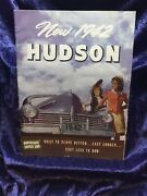 Vintage 1942 Hudson No. 627 Sales Brochure Naked Eye Antiques And Collectibles