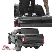 5.5ft Short Bed Tri-fold Tonneau Cover Lock Hard Solid For Ford F150 2015-2018